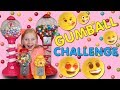 CRAZY BUBBLE GUM EMOJI CHALLENGE!!!! TRY NOT TO LAUGH!