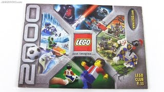 A look at a LEGO catalog from 2000!