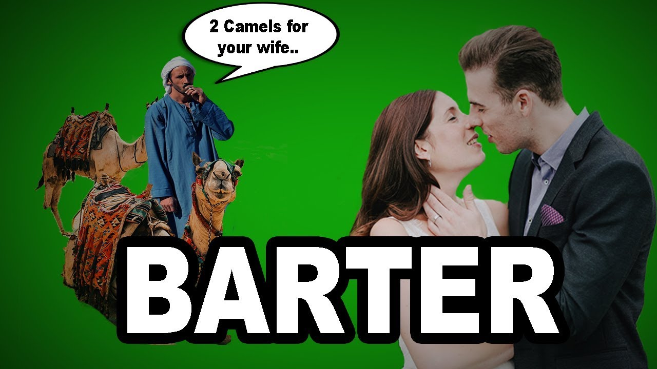 Learn English Words - BARTER - Meaning, Vocabulary with