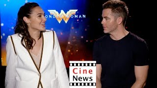 Wonder Woman – Interview: Gal Gadot, Chris Pine