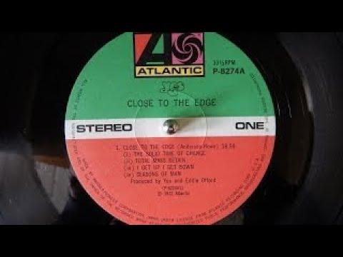 Yes - Close to the edge (1972   vinyl rip   LP   full album)