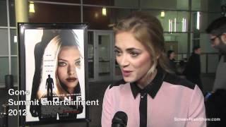 Emily Wickersham HD Interview - Gone