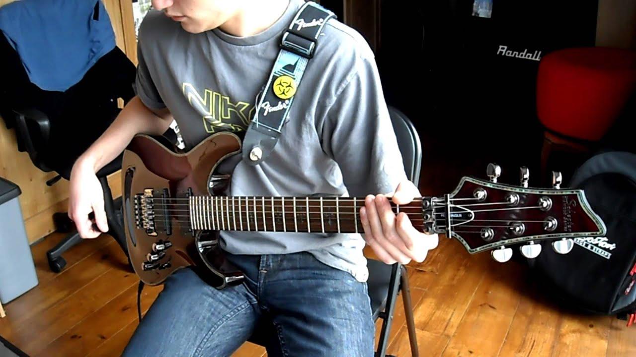 Elena Siegman - Abracadavre Guitar Cover (Call Of Duty Song)