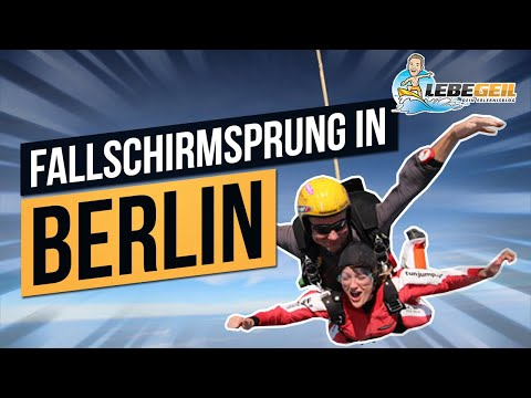 Fallschirmsprung Berlin | 4.000 Meter Tandemsprung Mit TAKE OFF Fallschirmsport In Fehrbellin