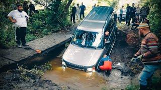 КОГДА НЕ ЖАЛКО АВТО! Land Rover Discovery против УАЗ