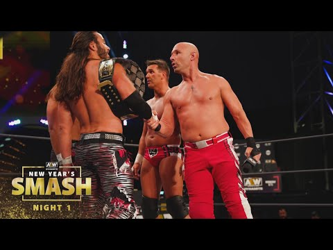 The Opening Tag Match with a Shocking Finish | AEW New Year's Smash Night 1, 1/6/21
