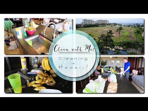 Clean With Me! - Speed Cleaning - Cleaning our VACATION HOUSE!