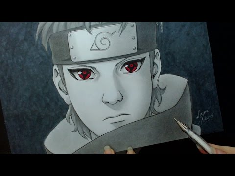 Speed Drawing - Uchiha Shisui (Naruto)