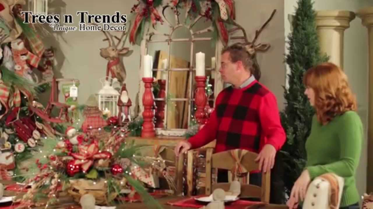 Christmas tree 2014 decorating trends -  Vintage Treasures Christmas Decorating Theme 2014 Trees N Trends