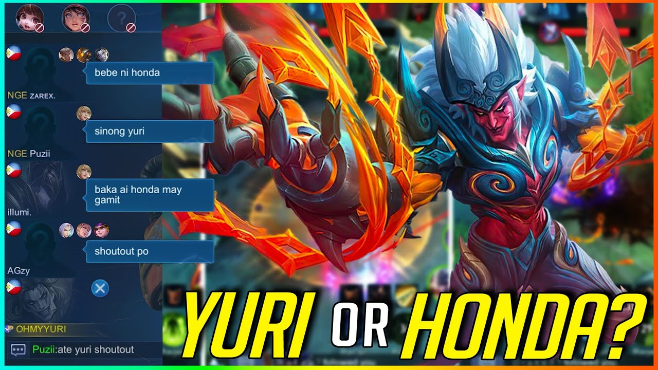 YURI OR HONDA?   MLBB