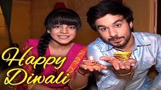 Thapki and Bihan aka Jigyasa and Manish celebrates DIWALI with Tellybytes