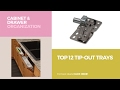 Top 12 Tip-Out Trays // Cabinet & Drawer Organization Best Sellers