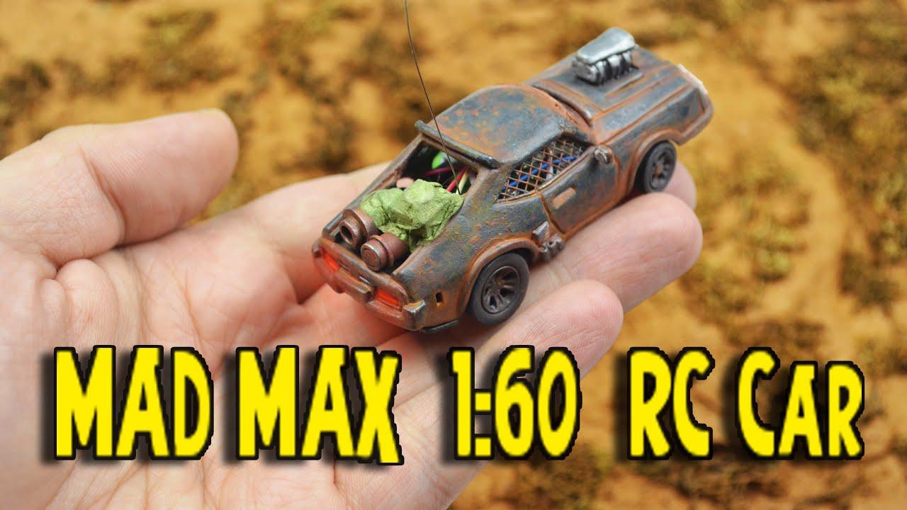 Как сделать самодельную кастомную машинку с радиоуправлением 1:60 из фильма MAD MAX