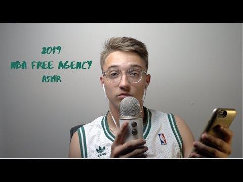 ASMR NBA Free Agency 2019
