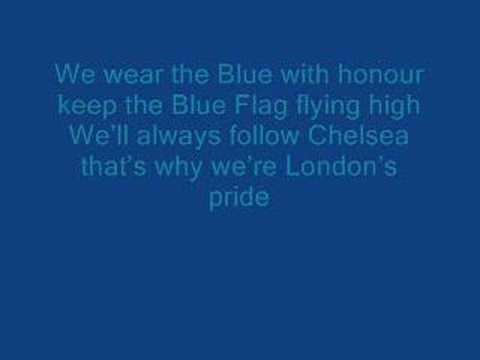 Chelsea FC-Pride of London-with lyrics