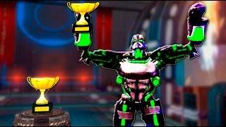 Real Steel Champions ZEUS ATOM BOT ZEUSATOM VS REGION III ROBOTS NEW ROBOT Живая Сталь