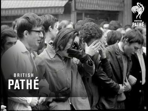 France - Demonstrations Aka French Students Clash With Police After Closure Of Sorbonne (1968)