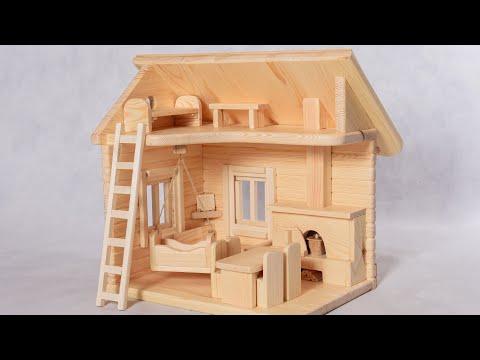 Своими руками деревянные кукольные домики
