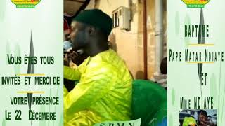 Pape Matar Ndiaye annonce son baptême le 22 Décembre à Tivaoune