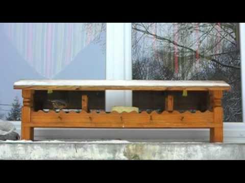 Mangeoire pour rebord de fen tre youtube for Coffrage pour appui de fenetre