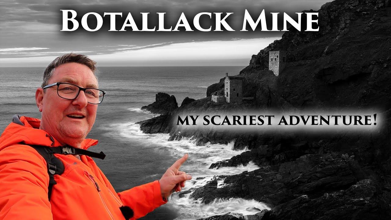Botallack Mine Cornwall - Scariest adventure!