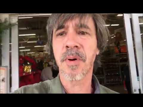 Dog Training & Singing Christmas carols in Home Depot with Peter Caine