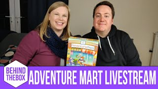 Livestream Playthrough of Adventure Mart