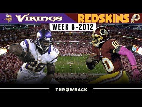 The Day RGIII Became a Superstar! (Vikings vs. Redskins 2012, Week 6)