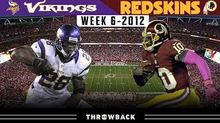 The Day RGIII Became a Superstar! (Vikings vs. Redskins 2012, Week 6)