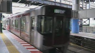 西日本鐵道【天神大牟田線】9000系、春日原駅発車,Japan Railway, Fukuoka City Subway Kūkō Line