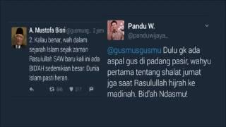 HINA Gus Mus Di Twitter, Karyawan PT Adhi Karya Di Pecat