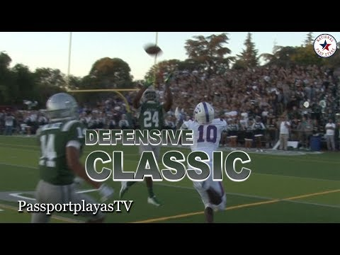 #1 De La Salle vs #2 Folsom NORCAL SHOWDOWN... DEFENSIVE MASTERPIECE!!!