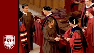 The 522nd Convocation, University Ceremony - The University of Chicago