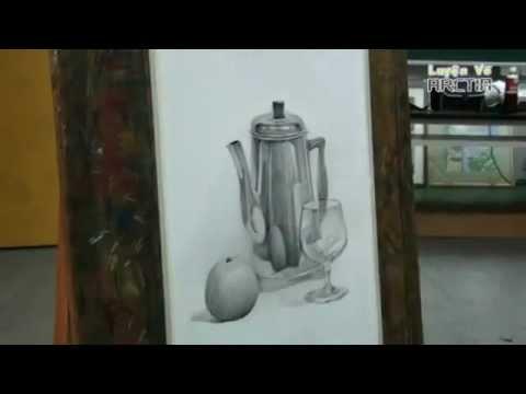 Dạy Vẽ Tĩnh Vật - Quy Trình Vẽ Một Bài Tĩnh Vật [Luyện Vẽ ArcTin]