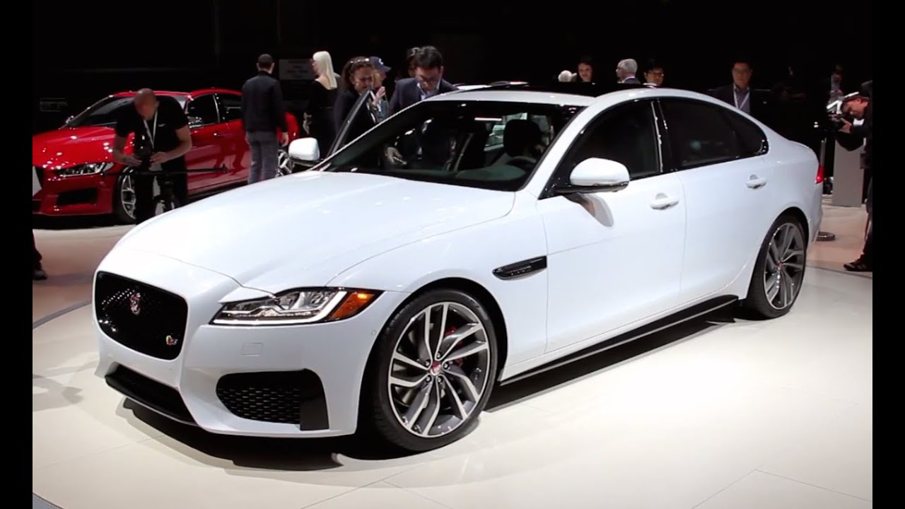 2016 jaguar xf in depth look 2015 nyias fast lane daily youtube. Black Bedroom Furniture Sets. Home Design Ideas