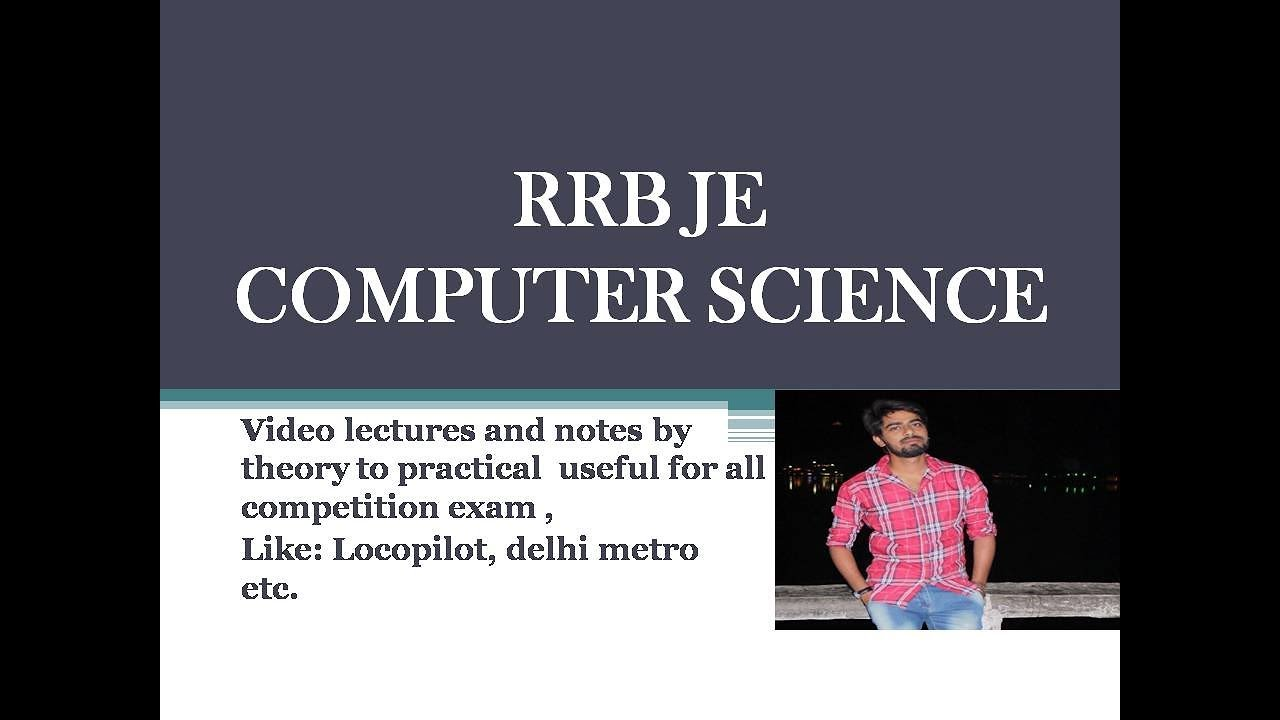 RRB JE COMPUTER SCIENCE