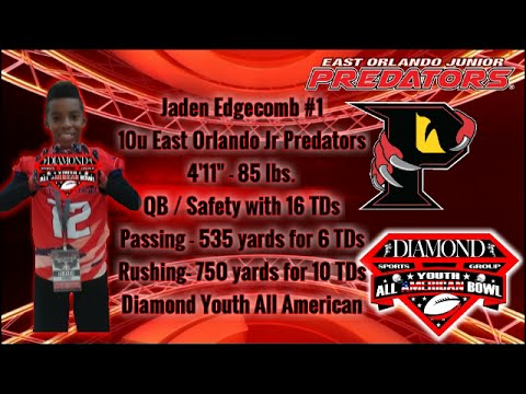 #1 Jaden Edgecomb QB/Safety 2015 HighLights