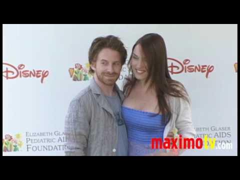 Family Guy Seth Green & Clare Grant at