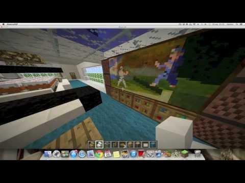 C mo hacer una casa bajo el agua en minecraft r pido y for Como decorar mi casa moderna