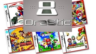 How to get DS ROM Games for DraStic Emulator (Android Only)