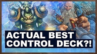 Actual Best Control Deck?! | Rise of Shadows | Hearthstone