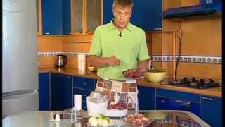 Кухонный комбайн и мясорубка в обработке мяса