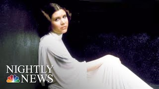 Carrie Fisher's Final Performance Is Now On The Big Screen | NBC Nightly News