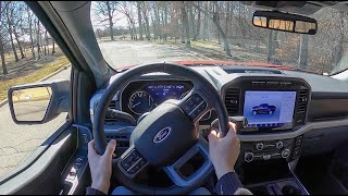 2021 Ford F-150 Hybrid XLT - POV Test Drive (Binaural Audio)
