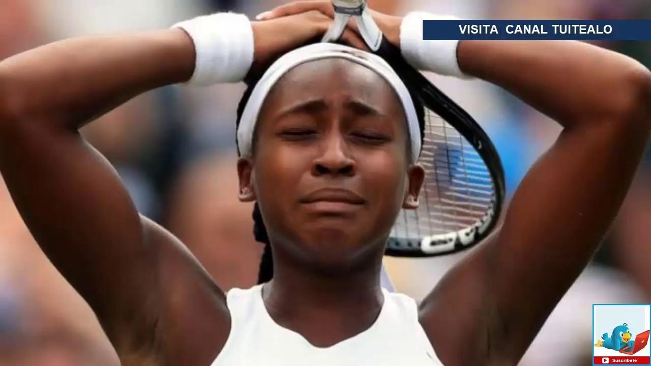 Coco Gauff de 15 aos, elimina a Venus Williams en el Abierto de ...