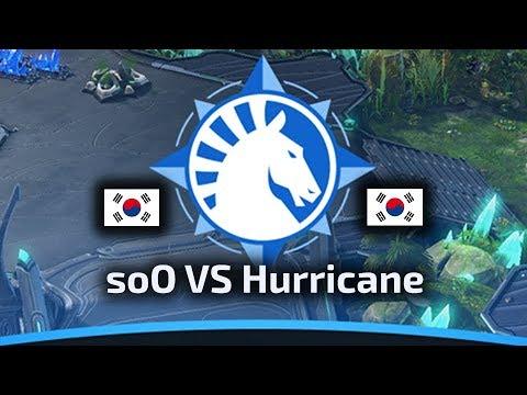 soO VS Hurricane - ZvP - WardiTV Team Liquid Map Contest Tournament 6 - polski komentarz