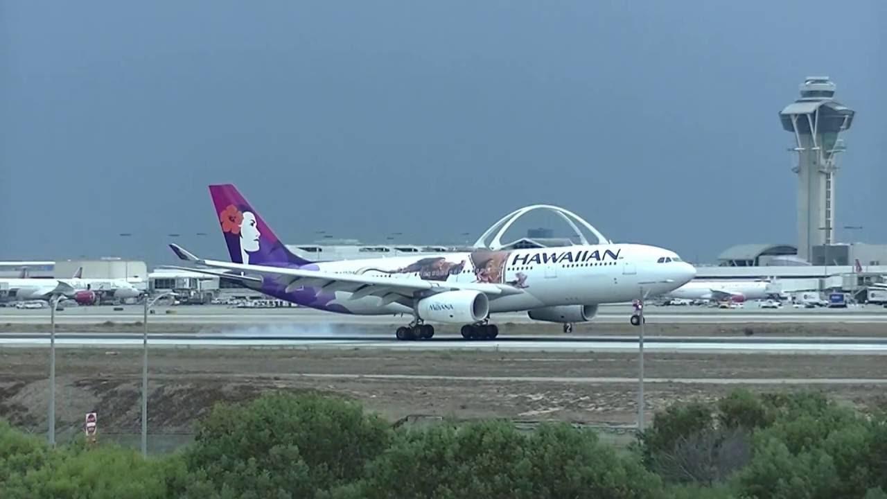 Hawaiian Airlines 10 HNL-LAX (Disney-Moana Livery) Oct 23 ...