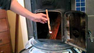How To Build A Fire In A Potbelly Woodstove