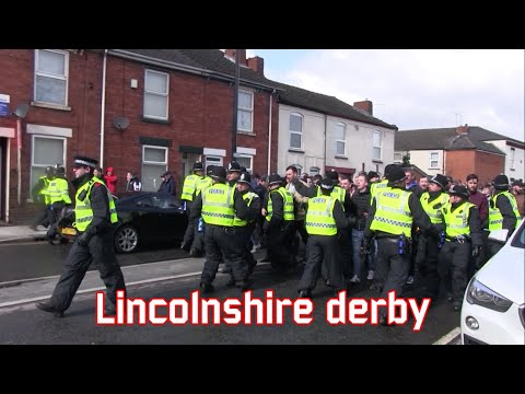 Lincolnshire derby (Lincoln City - Grimsby Town)