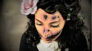 Black Dahlia (Pinup Zombie) Halloween Tutorial